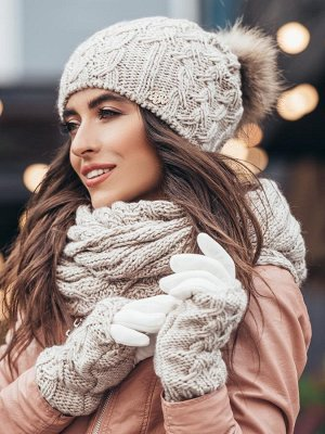 Как выбрать вязаную меховую шапку для женщины